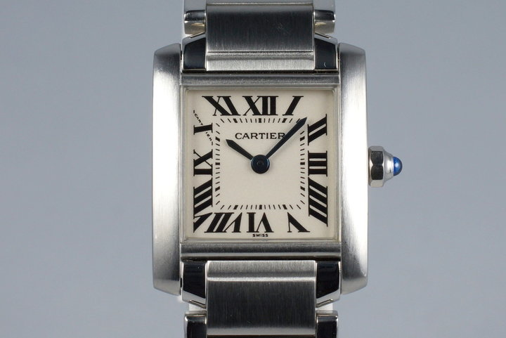 Cartier Ladies Quartz Tank Francaise 2300 photo
