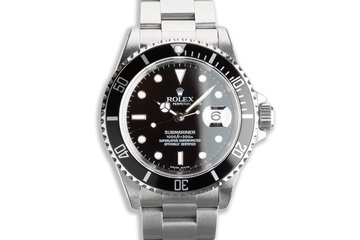 1995 Rolex Submariner 16610 with Box & Papers photo
