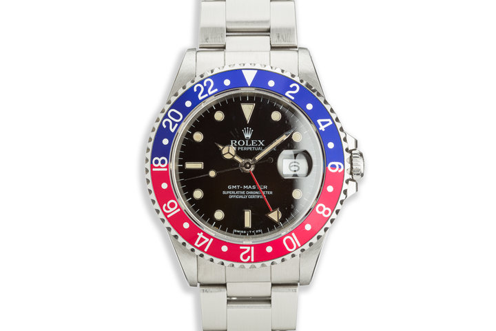 1991 Rolex GMT-Master 16700 with Box and Papers photo