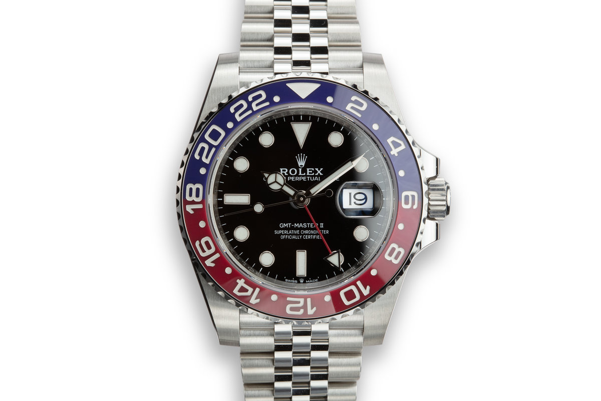 """2019 Rolex GMT-Master II 126710BLRO """"Pepsi"""" with Box and Papers photo, #0"""