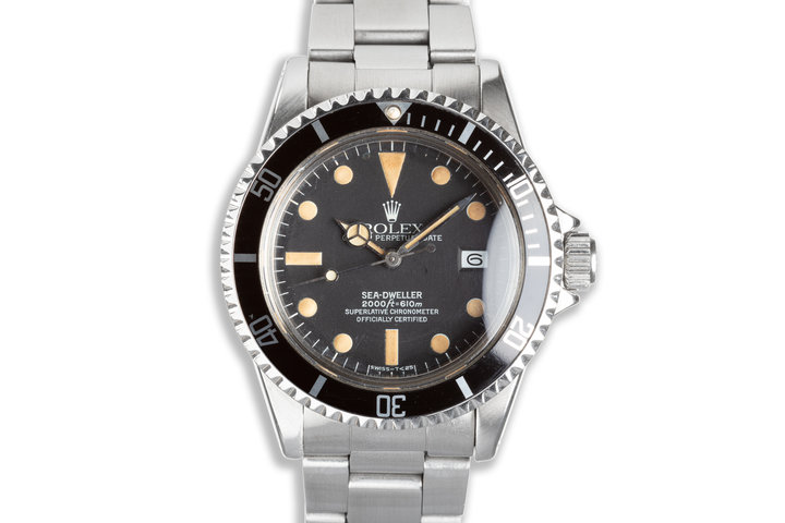 1979 Rolex Sea-Dweller 1665 with Box, Papers, and Wallet photo