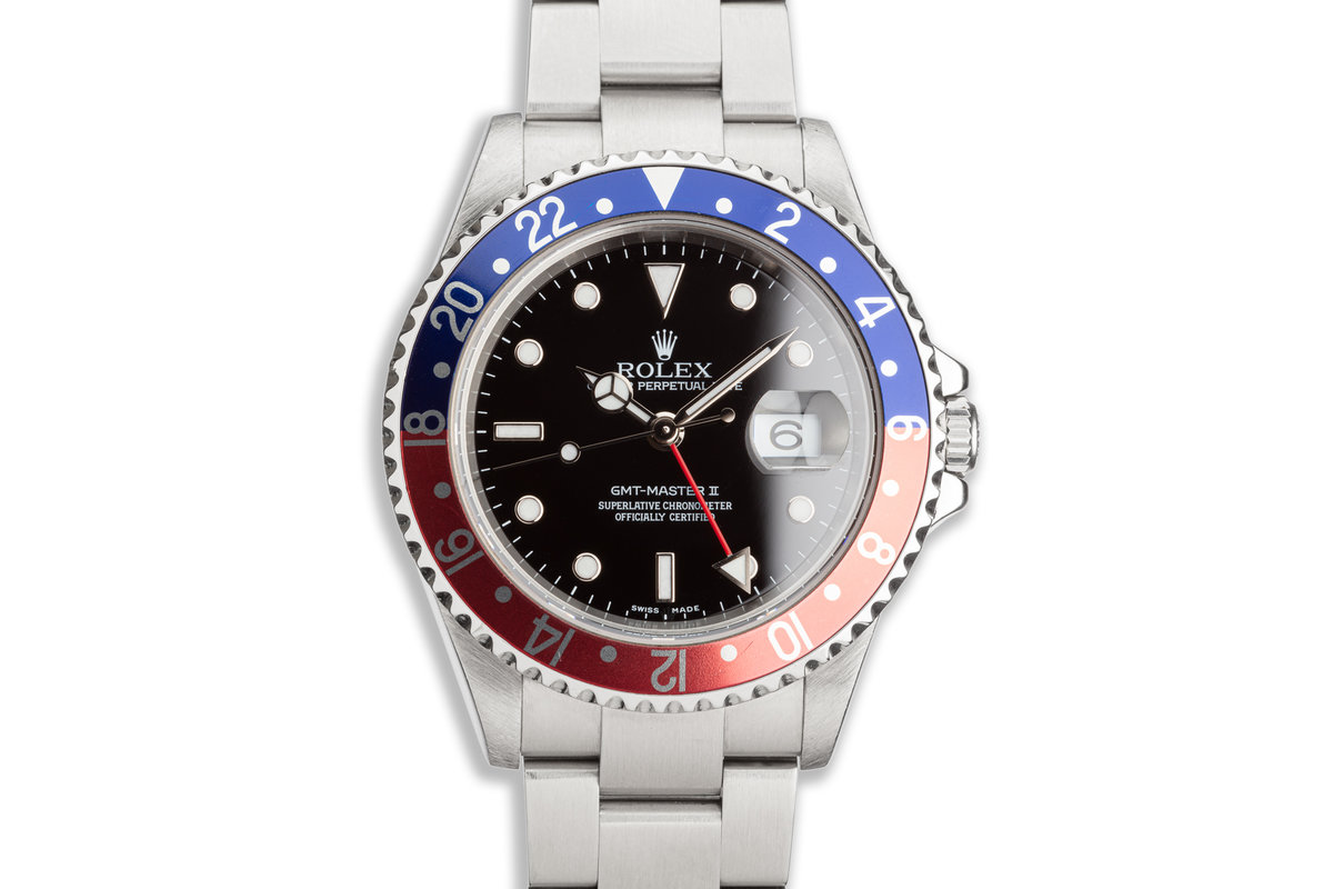 "2005 Rolex GMT-Master II 16710 T ""Pepsi"" Bezel photo, #0"
