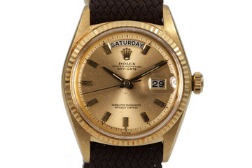 1963 Rolex YG Day-Date 1803 photo