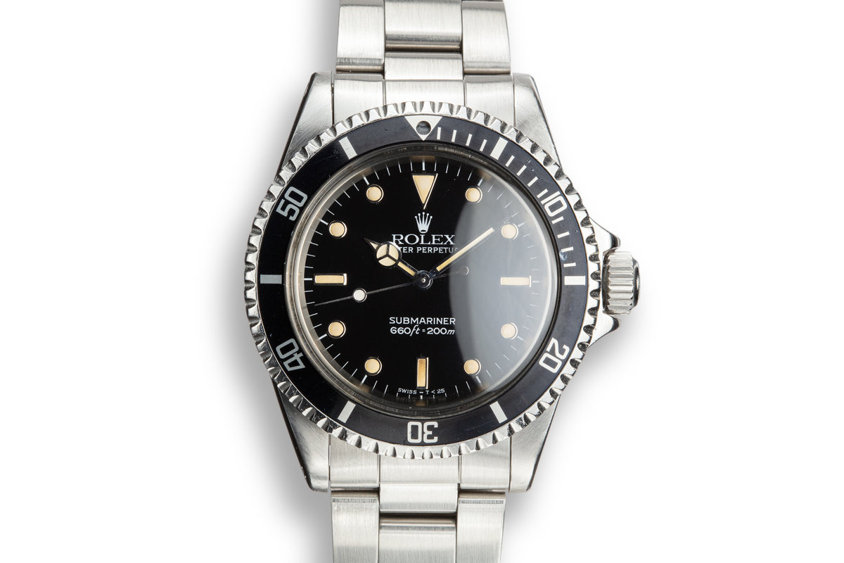 1964 Rolex 5513 with Newer Glossy Service Dial photo, #0