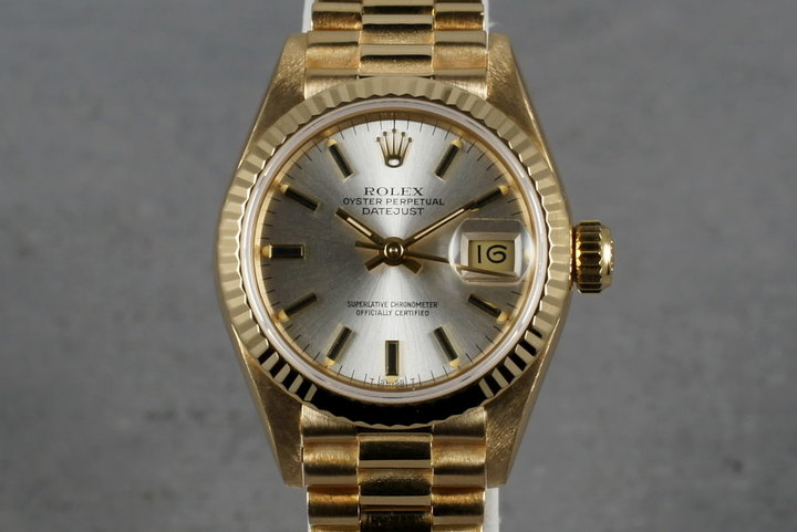1985 Rolex  69178 Ladies Datejust President photo