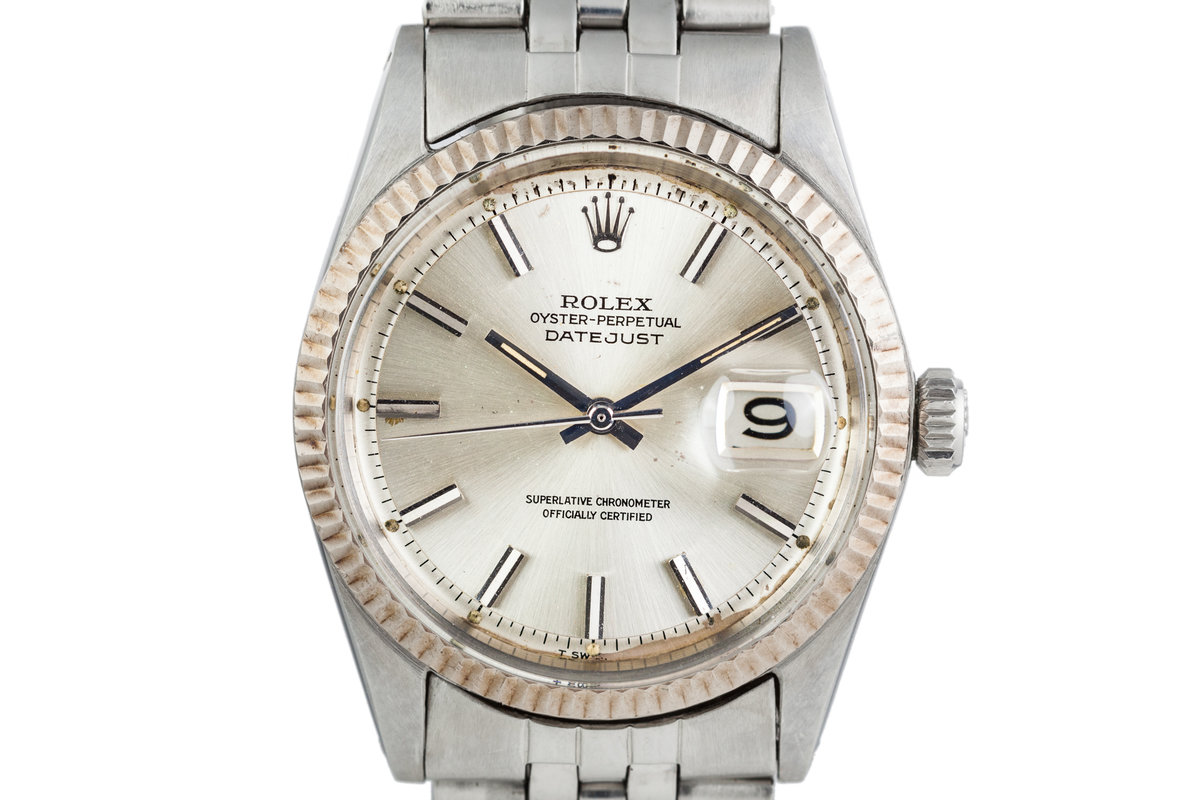 1967 Rolex DateJust 1601 Silver Dial photo, #0