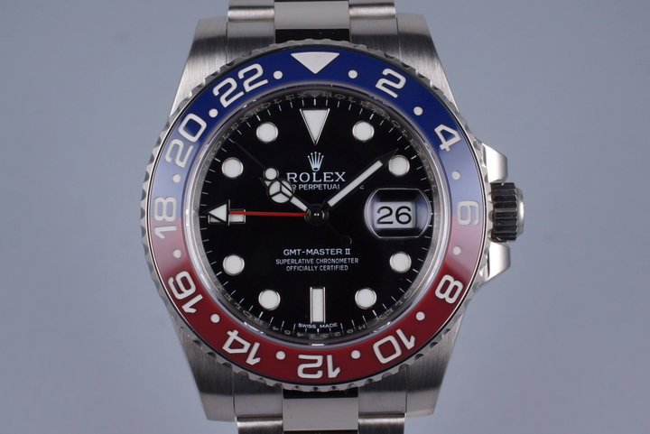 2014 Rolex WG GMT II 116719BLRO with Box and Papers photo