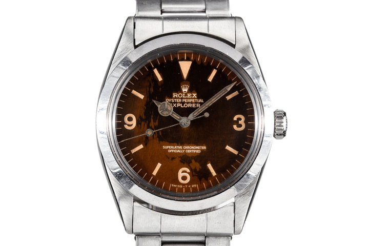 1966 Rolex Explorer I 1016 with Tropical Gilt Dial photo