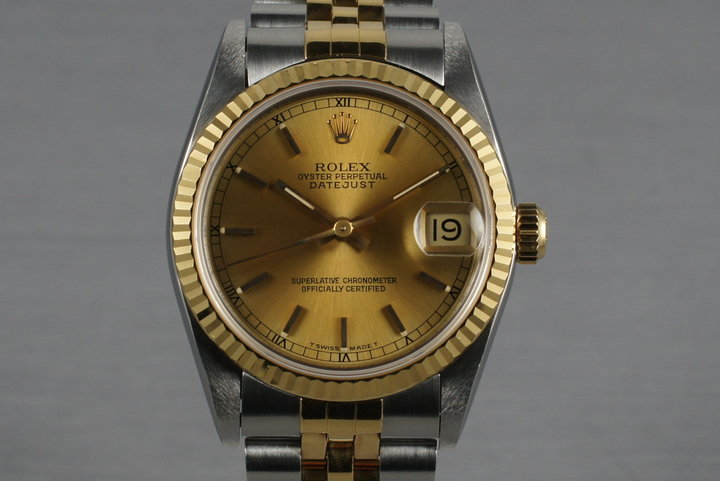 1993 Two Tone MidSize Datejust 68273 photo