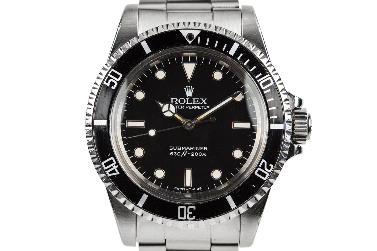 1985 Rolex Submariner 5513 with Spider Dial photo, #0