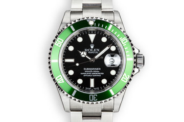 Mint 2003 Rolex Anniversary Submariner 16610 with Box and Papers photo