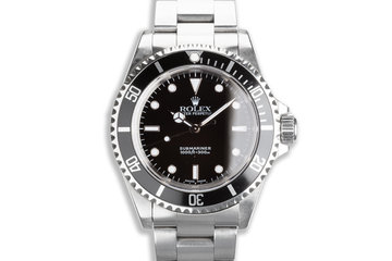 2000 Rolex Submariner 14060 with Box & Papers photo
