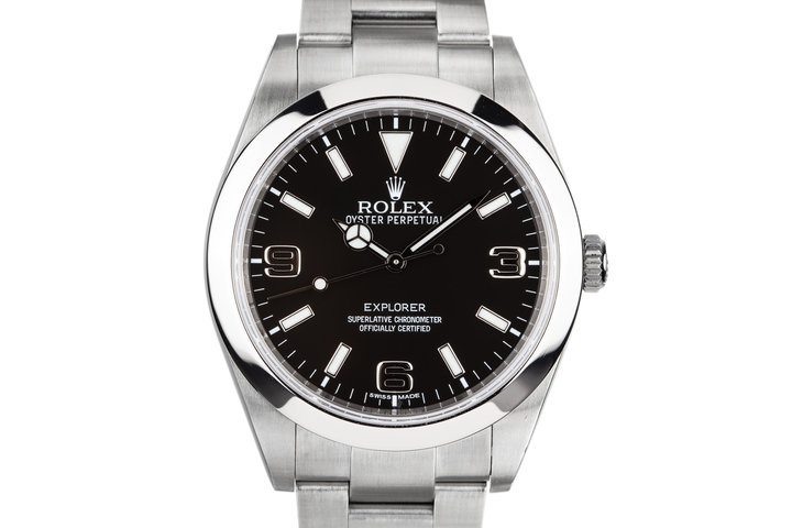 2010 Rolex 39mm Explorer 214270 photo