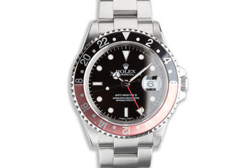 "1999 Rolex GMT-Master II 16710 ""Coke"" Bezel photo"