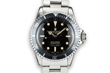1964 Rolex Submariner 5512 Gilt Dial photo