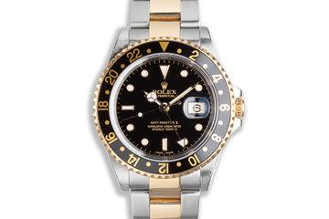 2000 Rolex 18k/St GMT-Master II 16713 photo