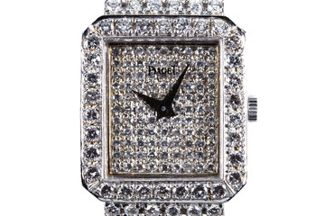 Piaget 18K White Gold with 10.38 total Carat Weight of Diamonds photo
