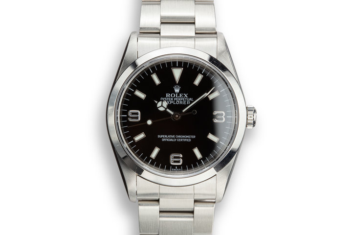 "1999 Rolex Explorer 14270 ""SWISS"" Only Dial photo"