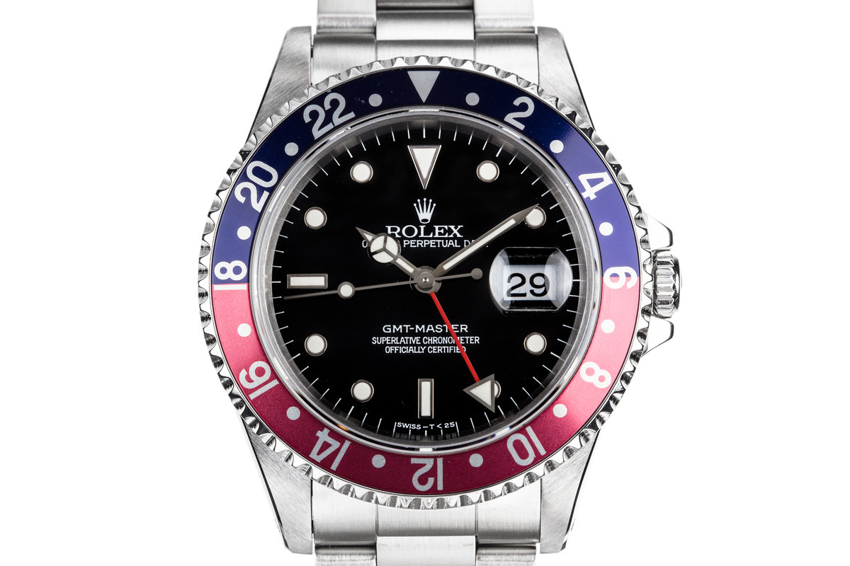 1995 Rolex GMT-Master 16700 with Faded Pepsi Bezel photo, #0