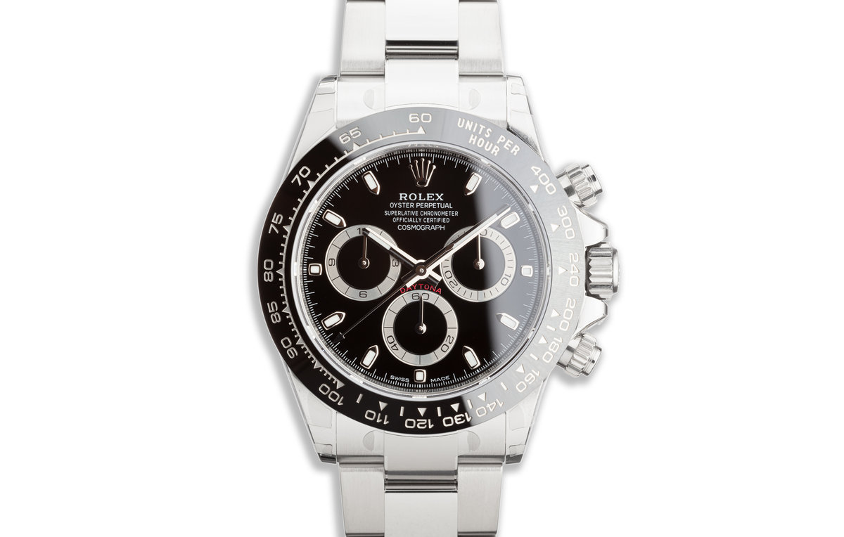 2019 Rolex Daytona 116500LN Black Dial with Box and Card photo, #0