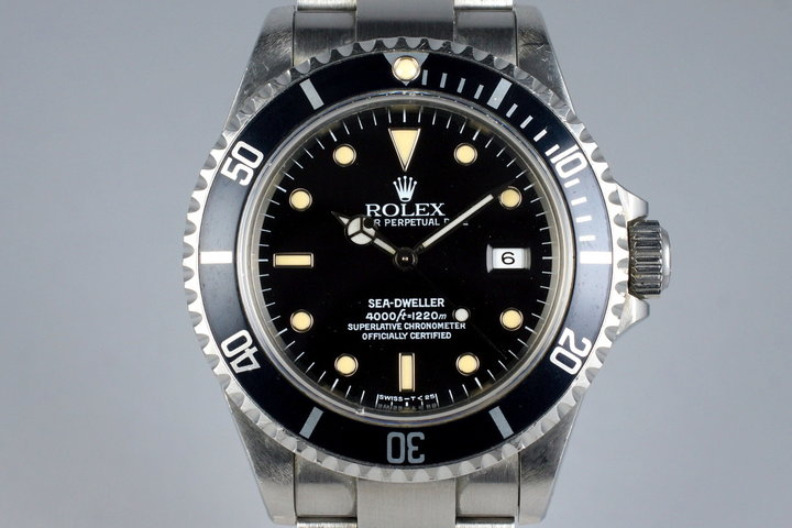 1991 Rolex Sea Dweller 16600 photo