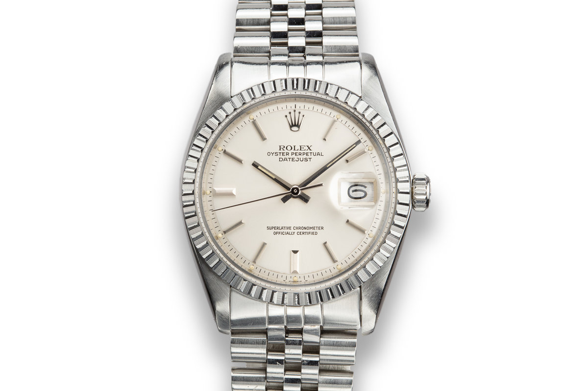 1978 Rolex DateJust 1603 Silver Dial with Service Papers photo, #0