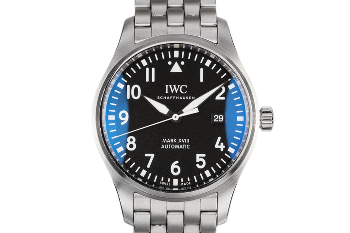 2016 IWC Pilot's Watch XVIII IW327011 With Box and Papers photo