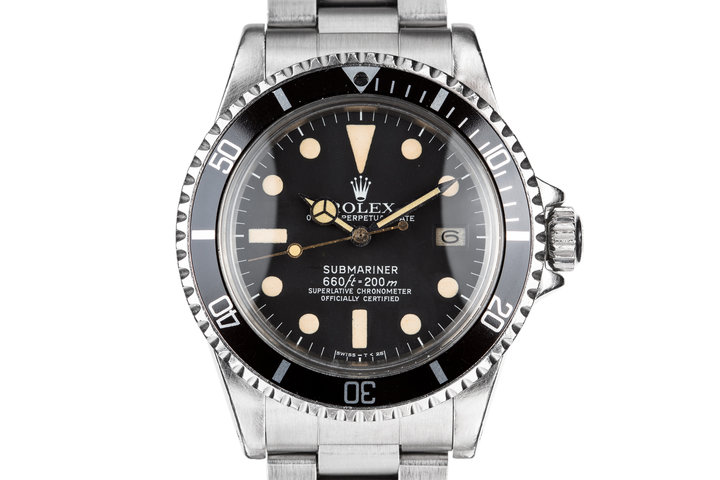 1977 Rolex Submariner 1680 with Box and Papers photo