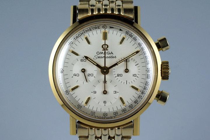 1965 Omega Gold Cap Seamaster 300 105.005 Caliber 321 photo