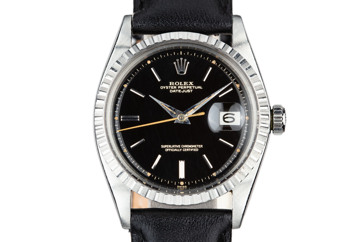 1964 Rolex DateJust 1603 with Swiss Only Gilt Dial photo, #0