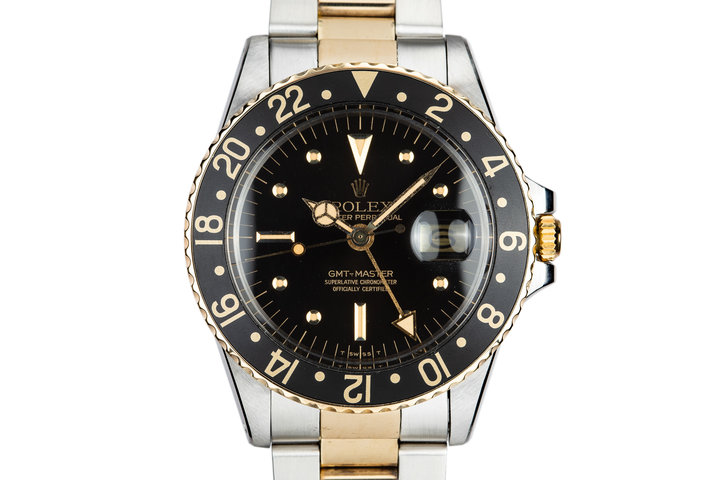 1977 Rolex Two-Tone GMT-Master 1675 with Black Nipple Dial photo