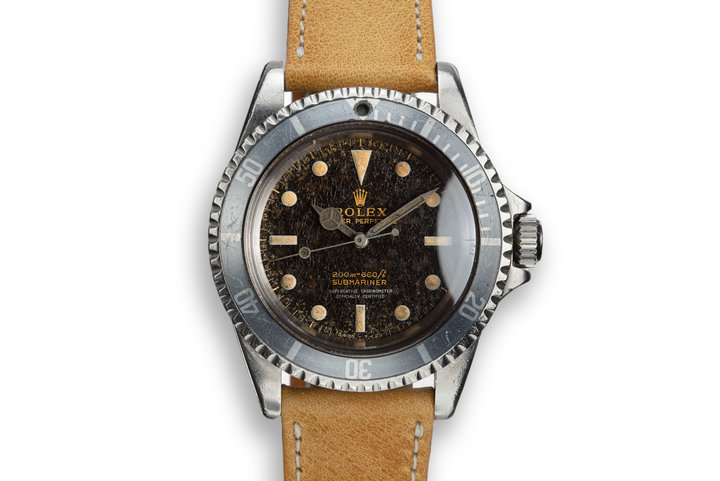 1966 Rolex Submariner 5512 Gilt Dial photo