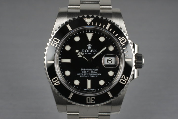 2013 Rolex Submariner 116610LN with Box and Papers photo