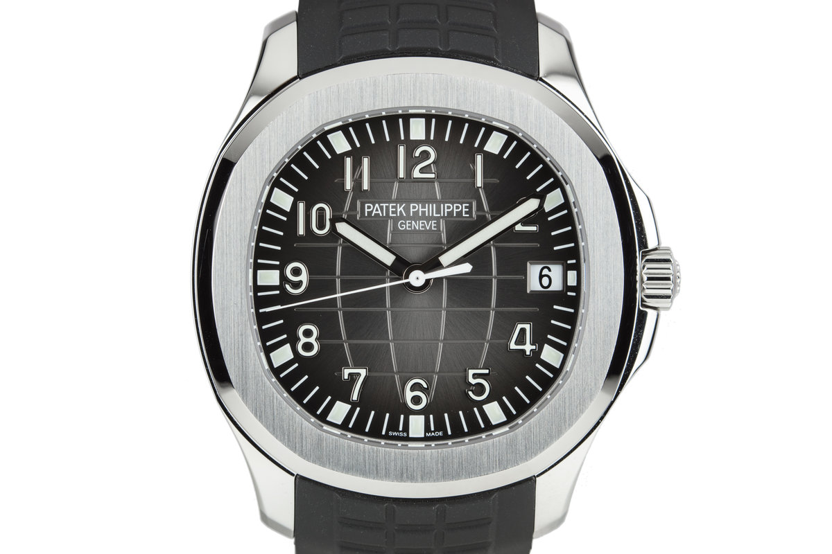 2017 Patek Phillipe Aquanaut 5167A-001 with Box, Papers, and Extra Strap photo, #0