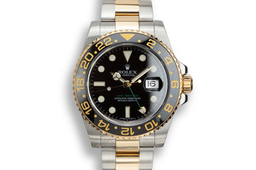 2007 Rolex Two-Tone GMT-Master II 116713 with Box and Papers photo