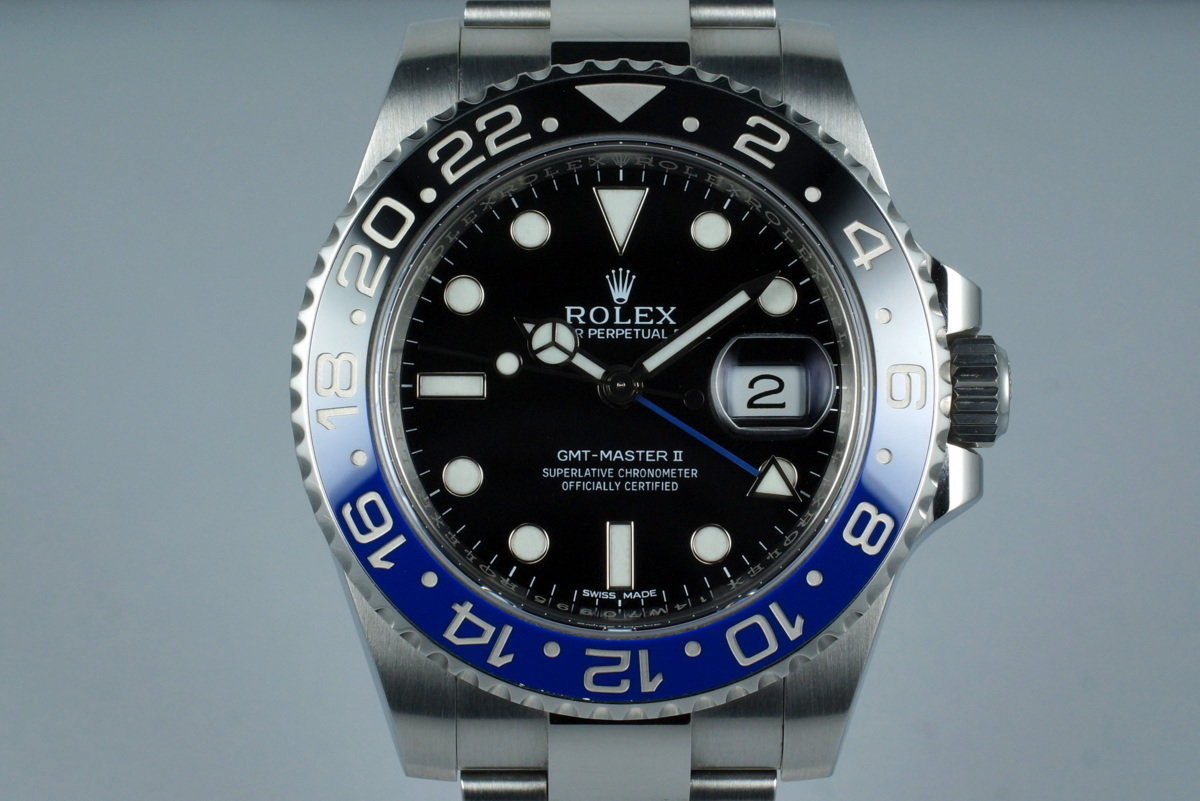 2014 Rolex GMT II 116710B with Box and Papers photo, #0