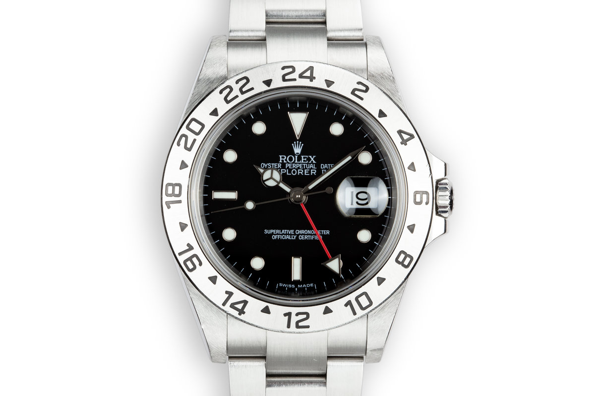 2003 Rolex Explorer II 16570 Black Dial photo, #0