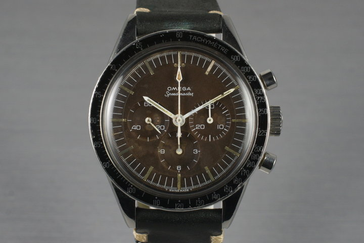 1964 Omega Speedmaster S105.003 Calibre 321 with Brown Tropical Dial photo