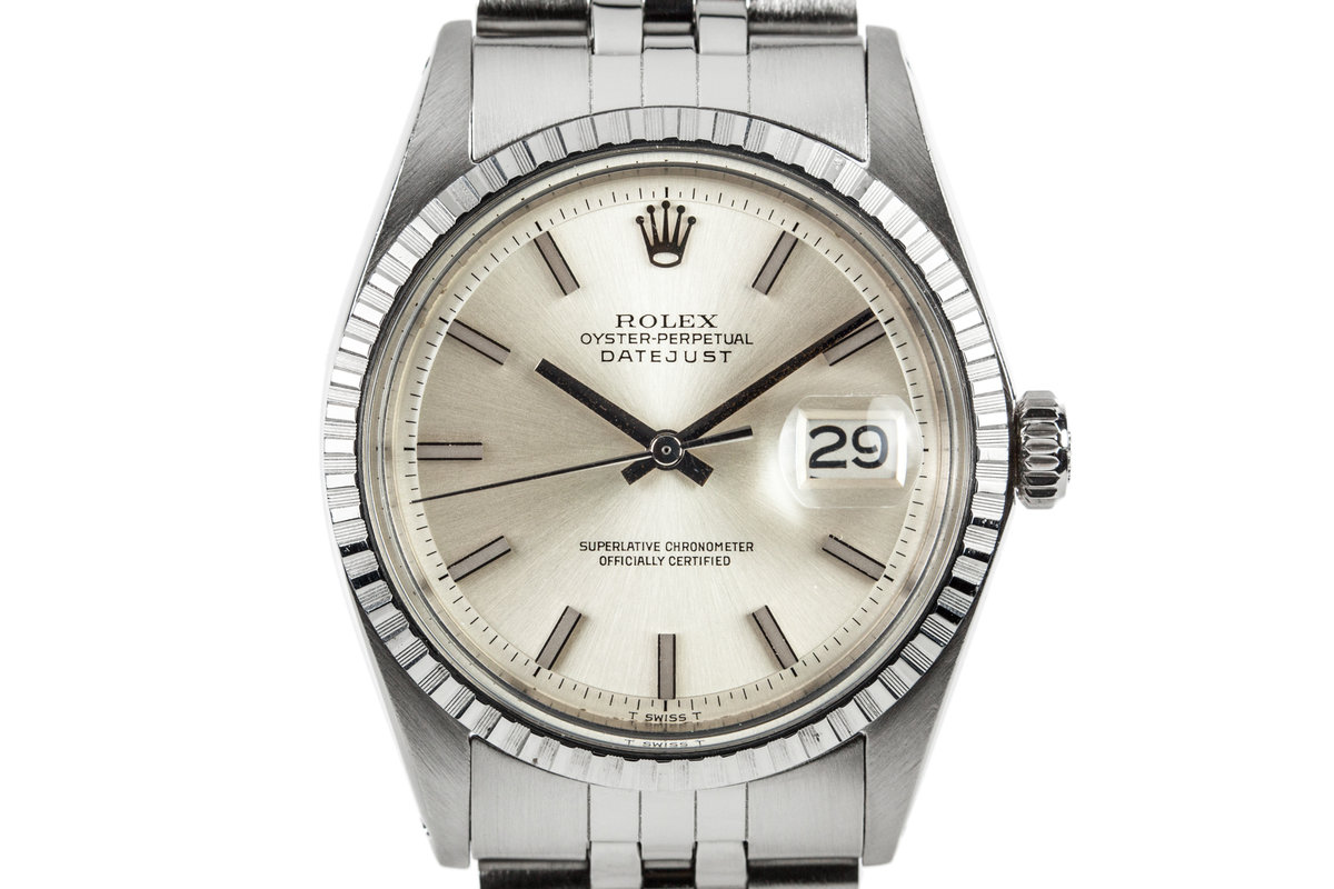 1970 Rolex Datejust 1603 with No Lume Dial and Hands photo, #0