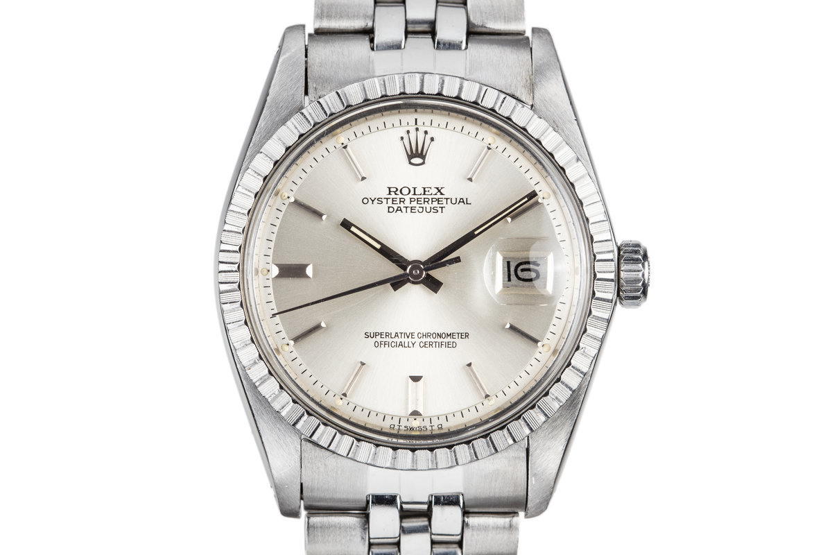 1973 Rolex DateJust 1603 Silver Dial photo, #0