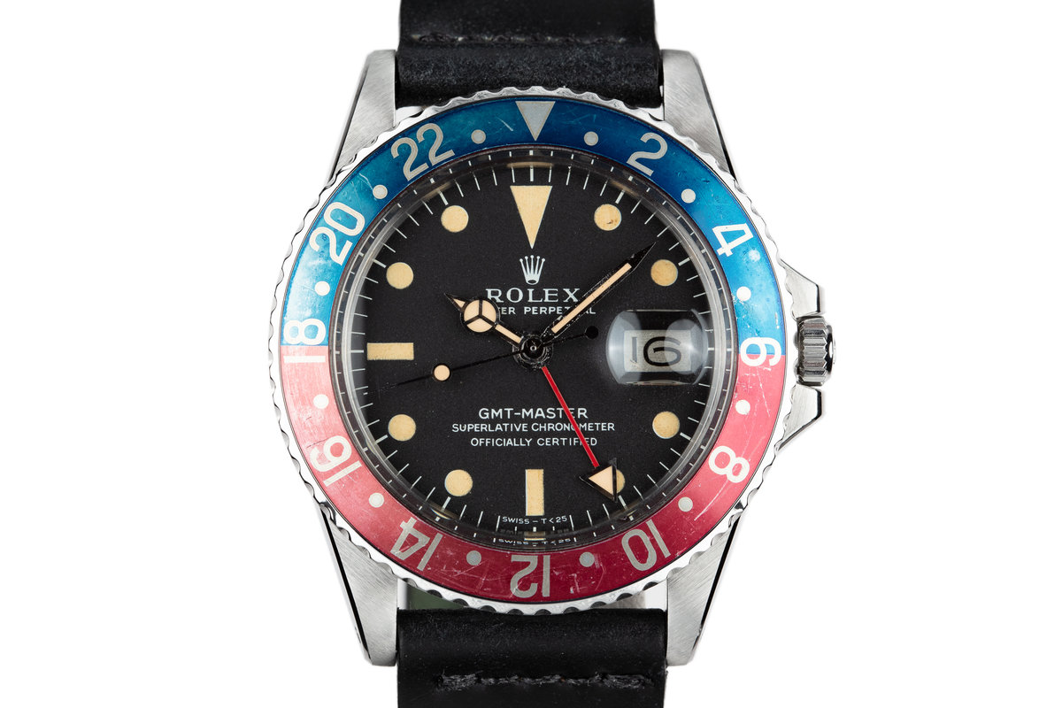 1968 Rolex GMT-Master 1675 with Double Punched Papers and Box photo, #0