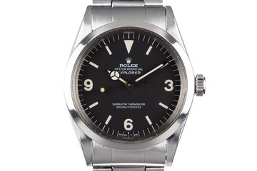 1972 Rolex Explorer 1016 With Service Papers photo