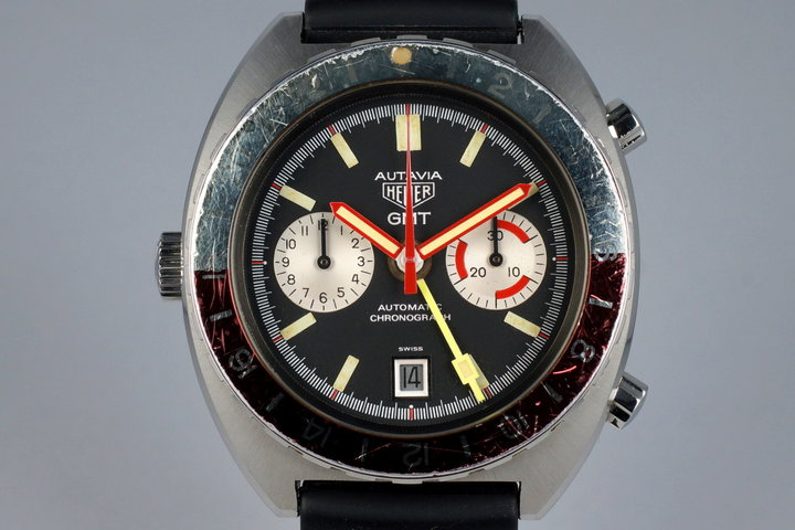 1970's Heuer Autavia 11630 GMT photo