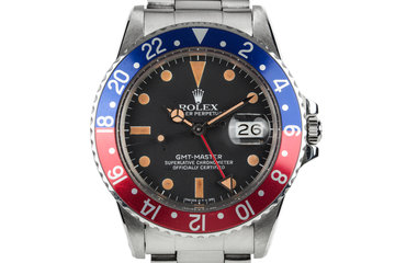 "1983 Rolex GMT-Master 16750 with ""Pepsi"" Bezel Insert photo"