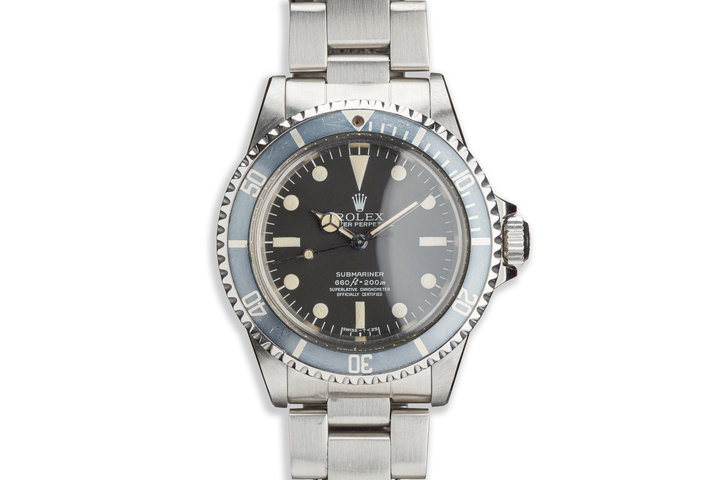 "1979 Vintage Rolex Submariner 5512 with MkIII ""Lollipop"" Dial photo"