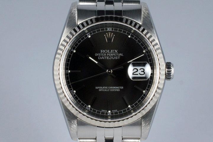 2003 Rolex DateJust 16234 Black Dial photo