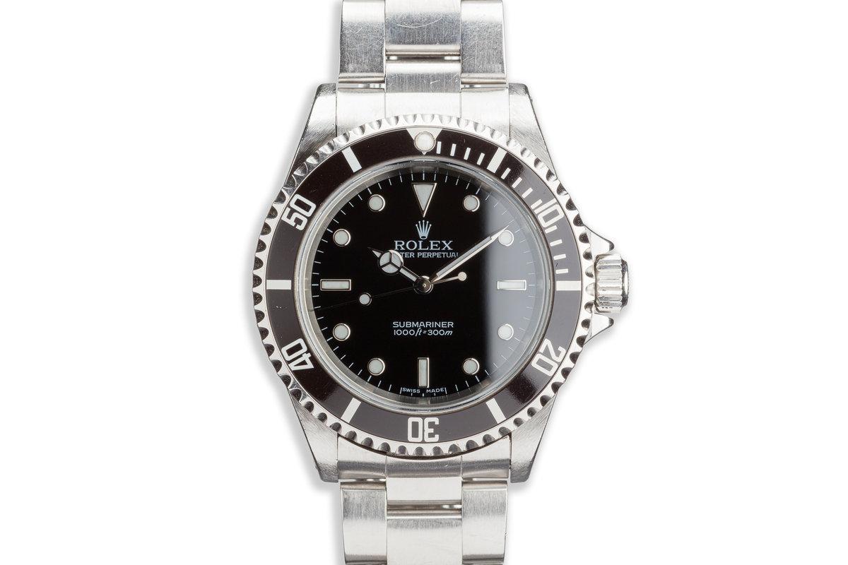 2003 Rolex 14060M Submariner photo, #0