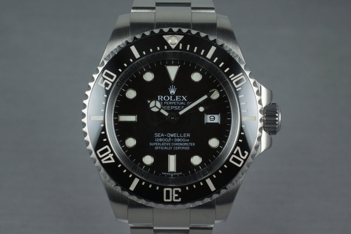 2009 Rolex Deep Sea Dweller 116660 with Box and Papers photo