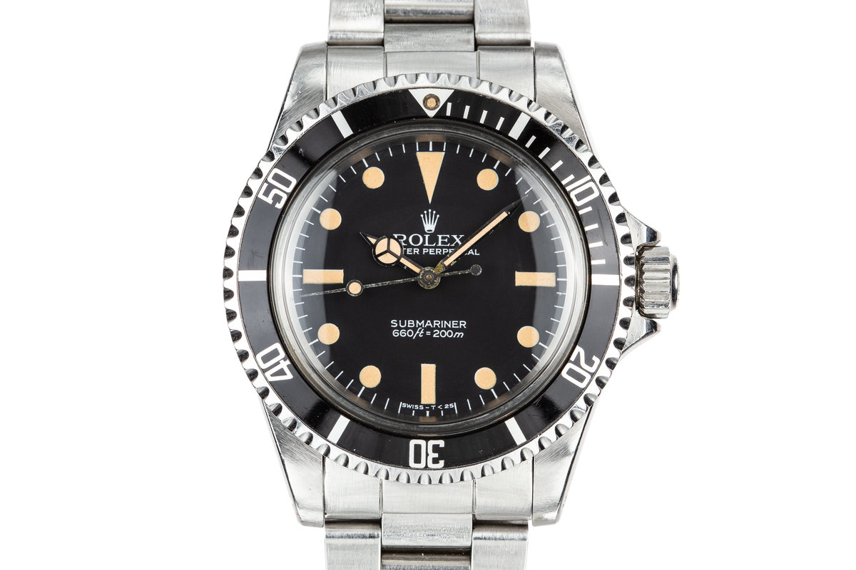 1982 Rolex Submariner 5513 with MK V Maxi Dial photo, #0