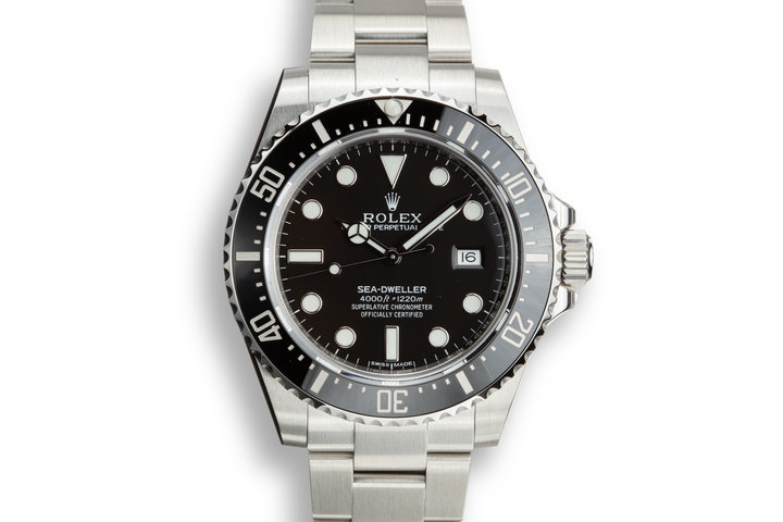 2017 Rolex Sea-Dweller 116600 with Box and Papers. photo